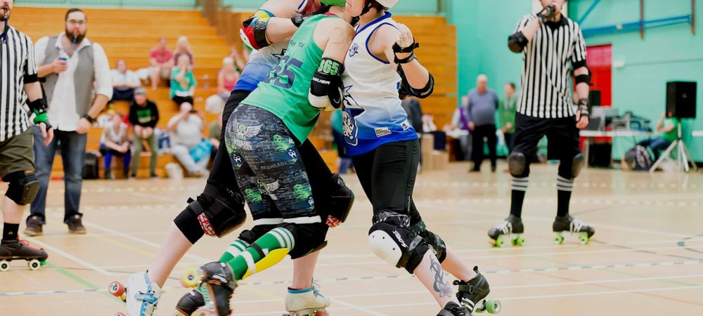 Roller Derby Blockers